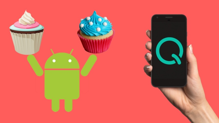 The 10th Android version has the starting letter Q reserved for it.