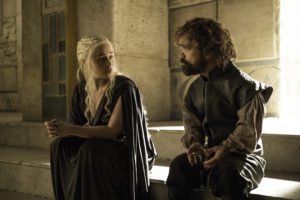 Game of Thrones Season 8 Tyrion and Daenerys