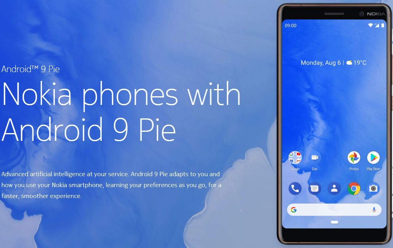 Android Pie Update Roadmap For Nokia Phones