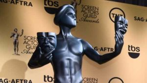 The SAG Awards gave minute-by-minute star power, helmed by Megan Mullally from Will & Grace.