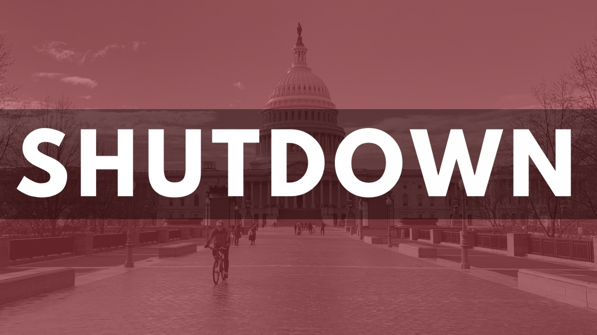 The Shutdown of the government is still resuming.