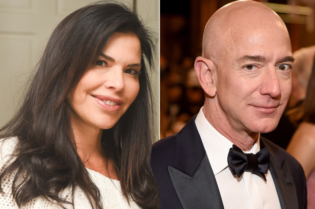 Jeff Bezos and Lauren Sanchez