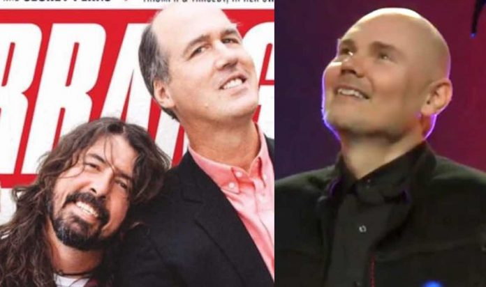 Billy Corgan Spotted with Dave Grohl in Surprising New Photos
