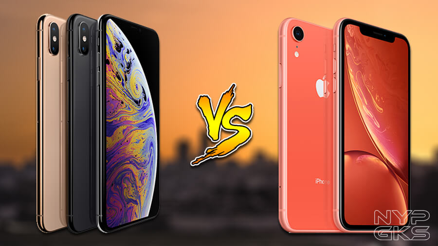 Apple iPhone XS vs Apple iPhone XR