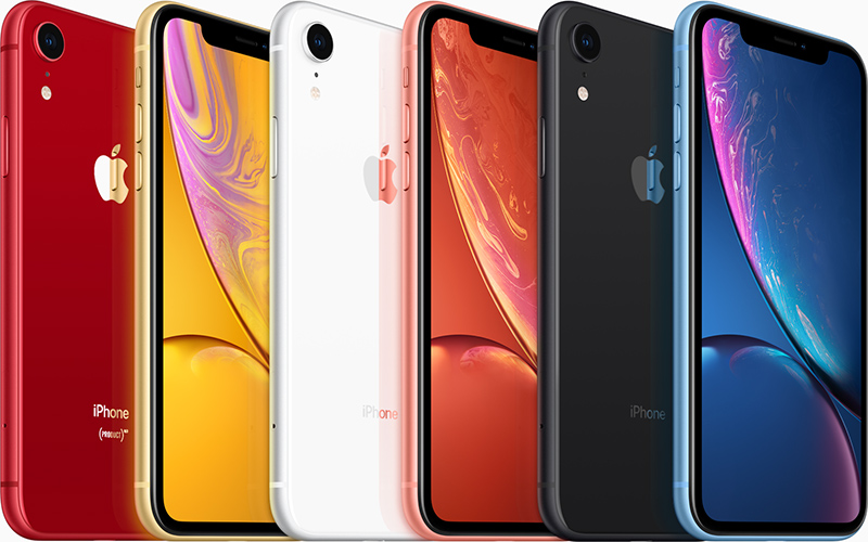 iPhone XR comes with a single rear camera