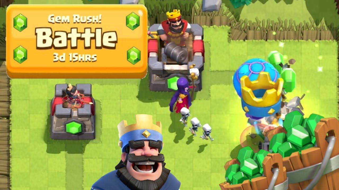 Clash Royale Gem Rush Weekend: All You Need To Know
