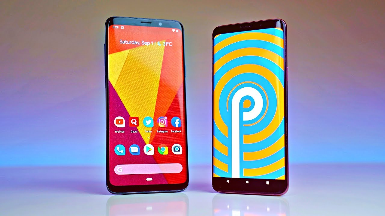 Samsung S9 series to receive Android Pie update.