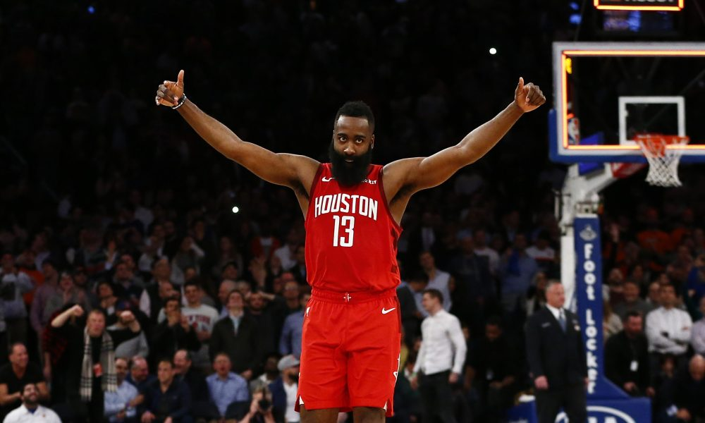 James Harden is starting in NBA All Stars