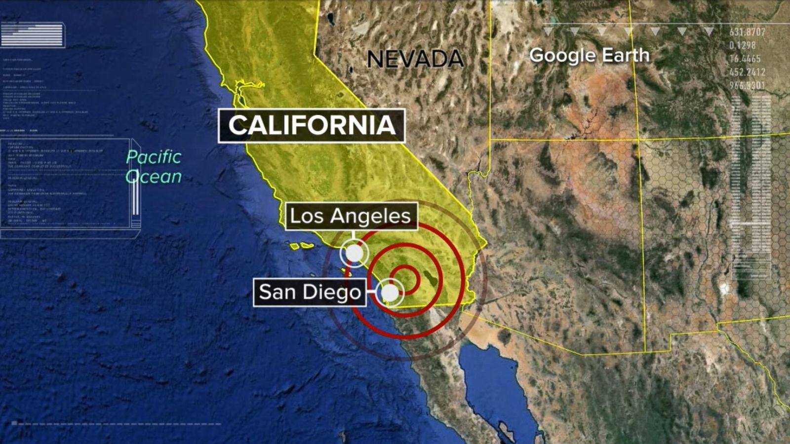 Earthquake of 3.7 shakes California