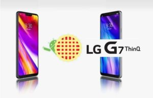 LG Android Pie Update LG G7