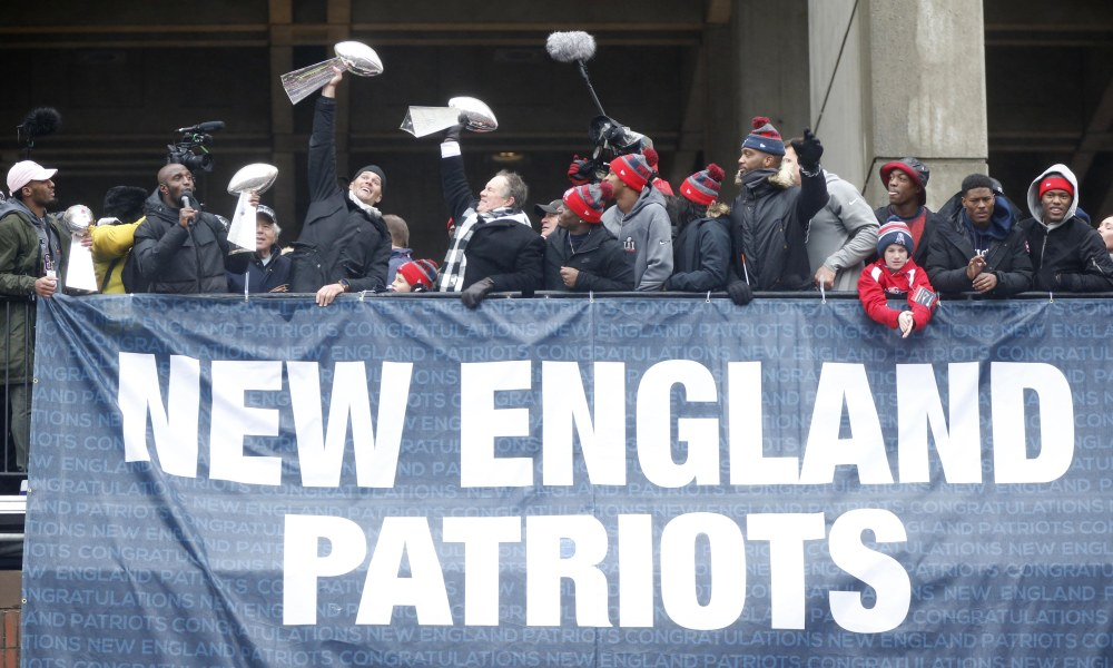 New England Patriots Super Bowl Victory Parade Route