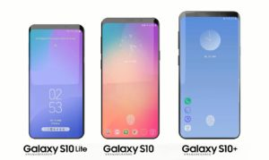 Samsung Galaxy S10, S10+, S10 Lite size difference
