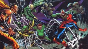 Spider-Man- Homecoming Rogues' Gallery