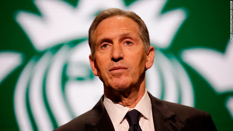 Starbucks Former CEO Considers Going Against Trump in US Presidential Election 2020