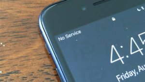 iOS 12.1.3 update no service solution