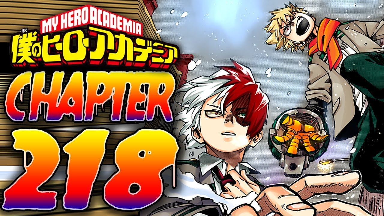 My Hero Academia Chapter 218 Raw Scan Release Date Confirmed, Predictions, And Spoilers