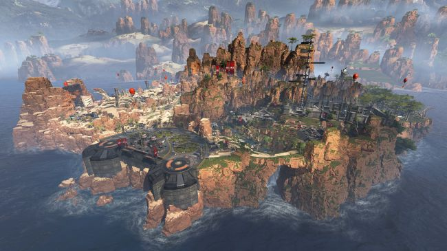 Apex Legends Map Best Loot Zones High Tier Loot