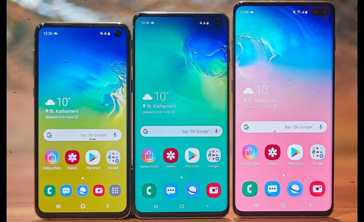 Samsung Galaxy S10 vs Samsung Galaxy S10+ vs Samsung Galaxy S10e battery life