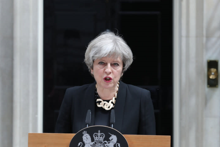 UK PM Theresa May Defeated Brexit