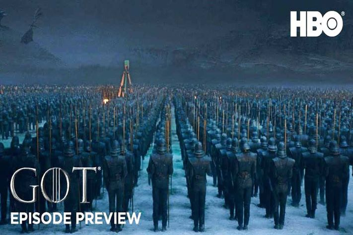 Game of Thrones Season 8 Episode 3 Army of Dead