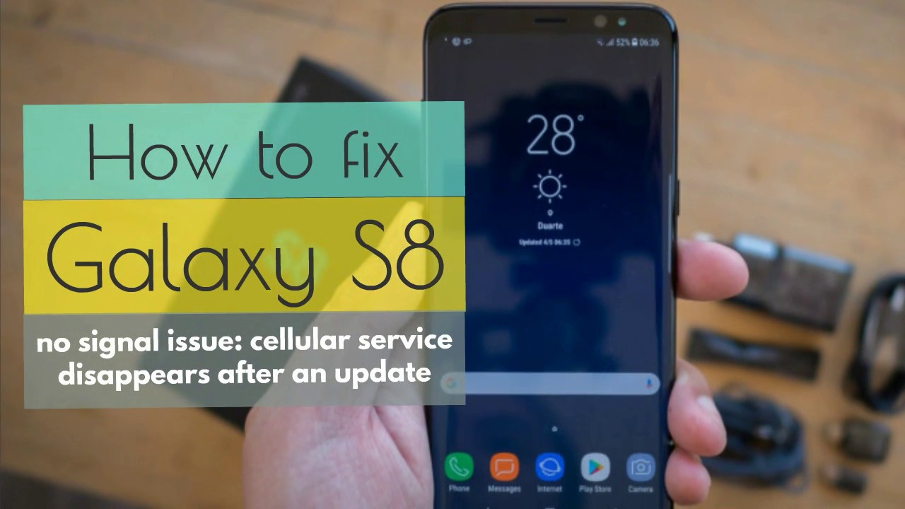 Samsung Galaxy S8 devices powered by Sprint are facing cellular reception problems after the latest Android update