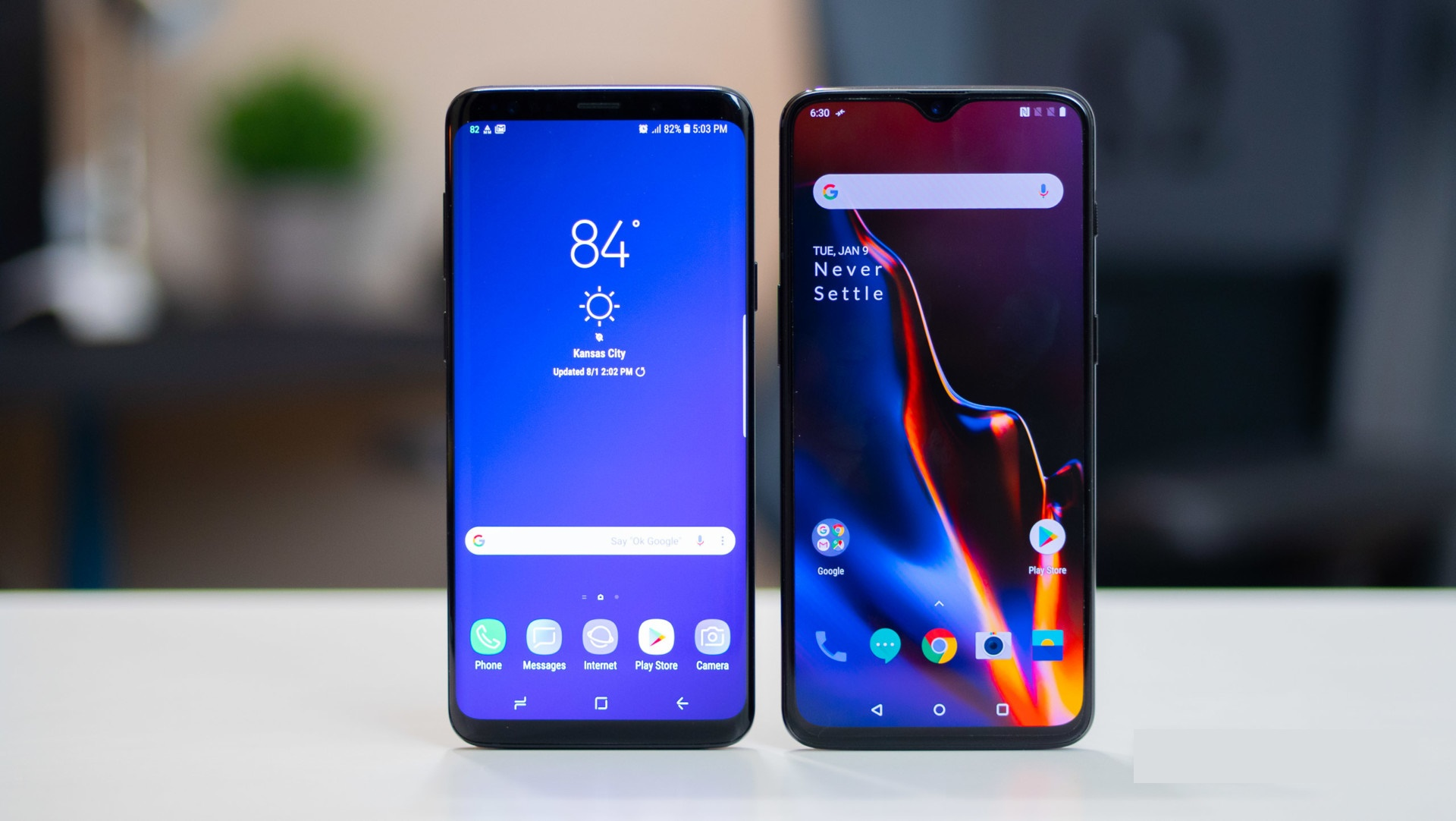 Samsung Galaxy S10+ vs OnePlus 7