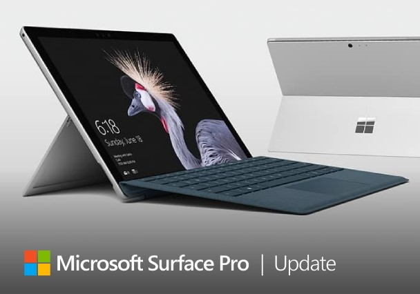 Surface Pro 5 and Surface Pro 6 update windows changelog