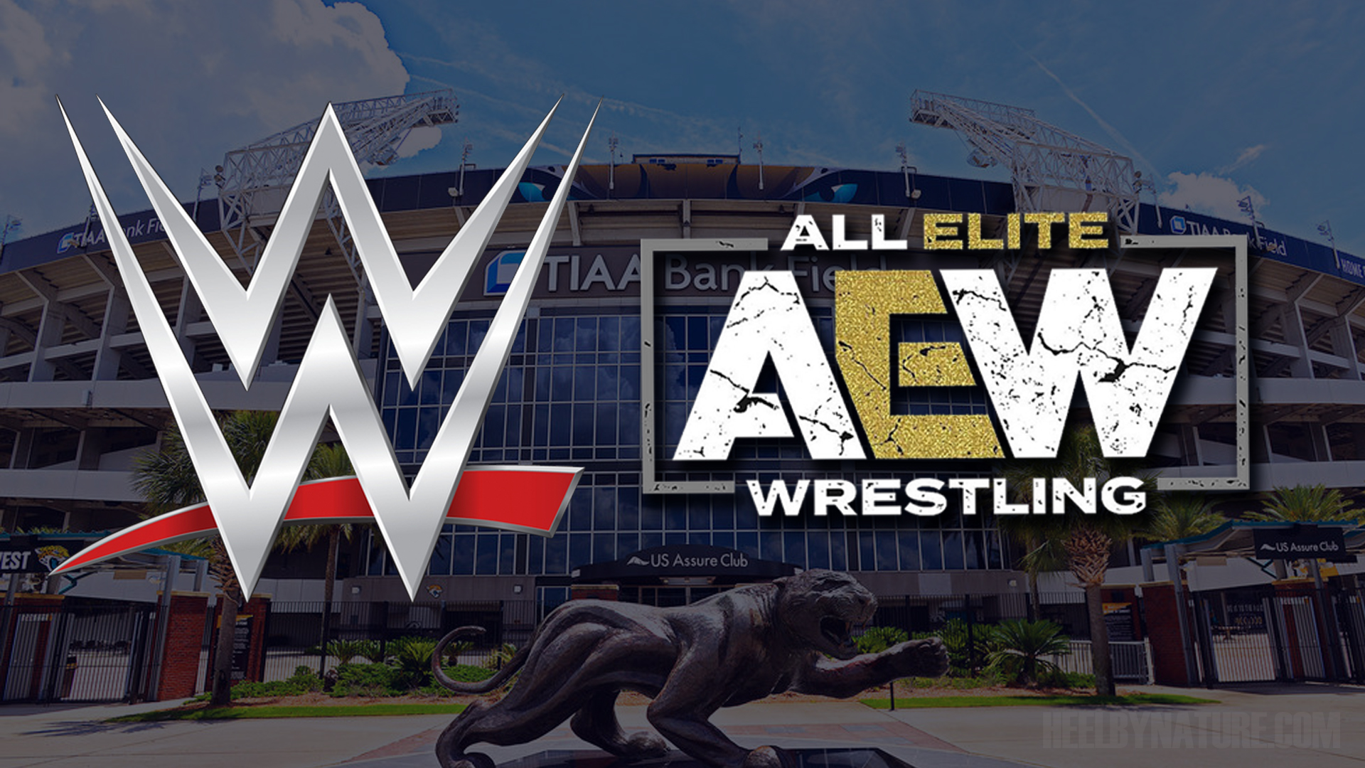 AEW vs WWE All Out