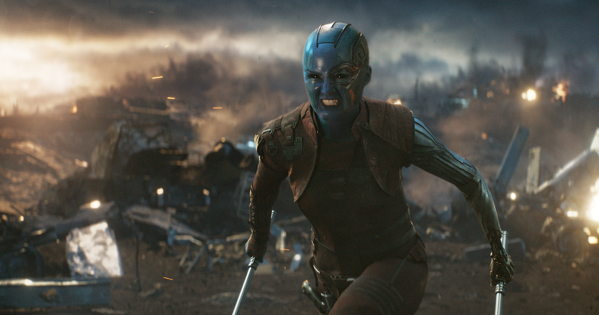 Avengers Endgame torrent trends in USA despite viruses - Marvel Studios' AVENGERS: ENDGAME..Nebula (Karen Gillan)..Photo: Film Frame..©Marvel Studios 2019