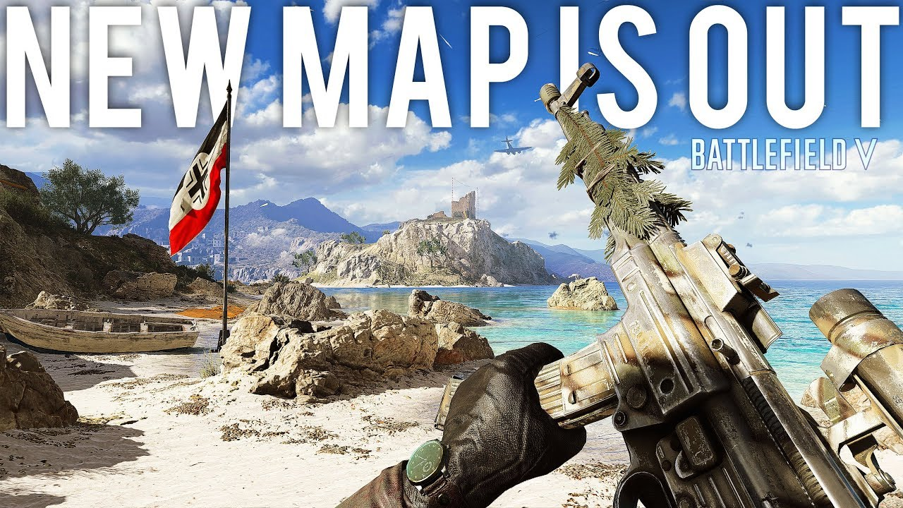 Battlefield V update new map