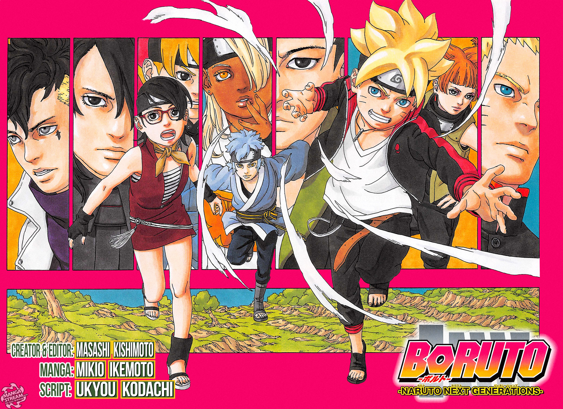 Boruto Naruto Next Generations Chapter 35 new release date and spoilers