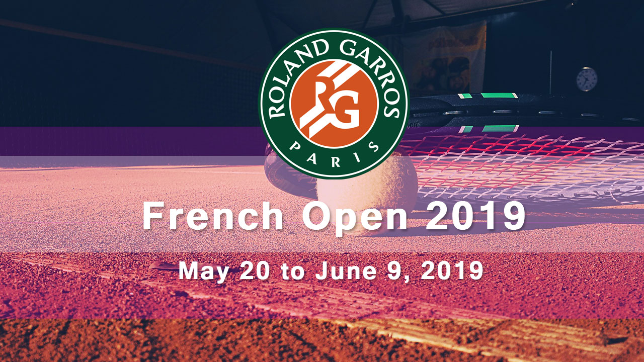 2019 French Open schedule and livestream