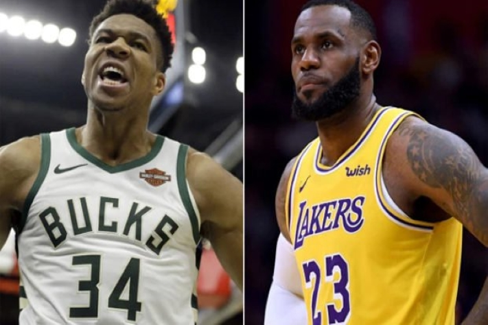 Giannis Antetokounmpo vs LeBron James