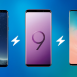 Samsung Galaxy S8, S9 and S10