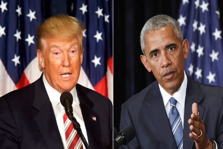 Trump vs Obama YouTube