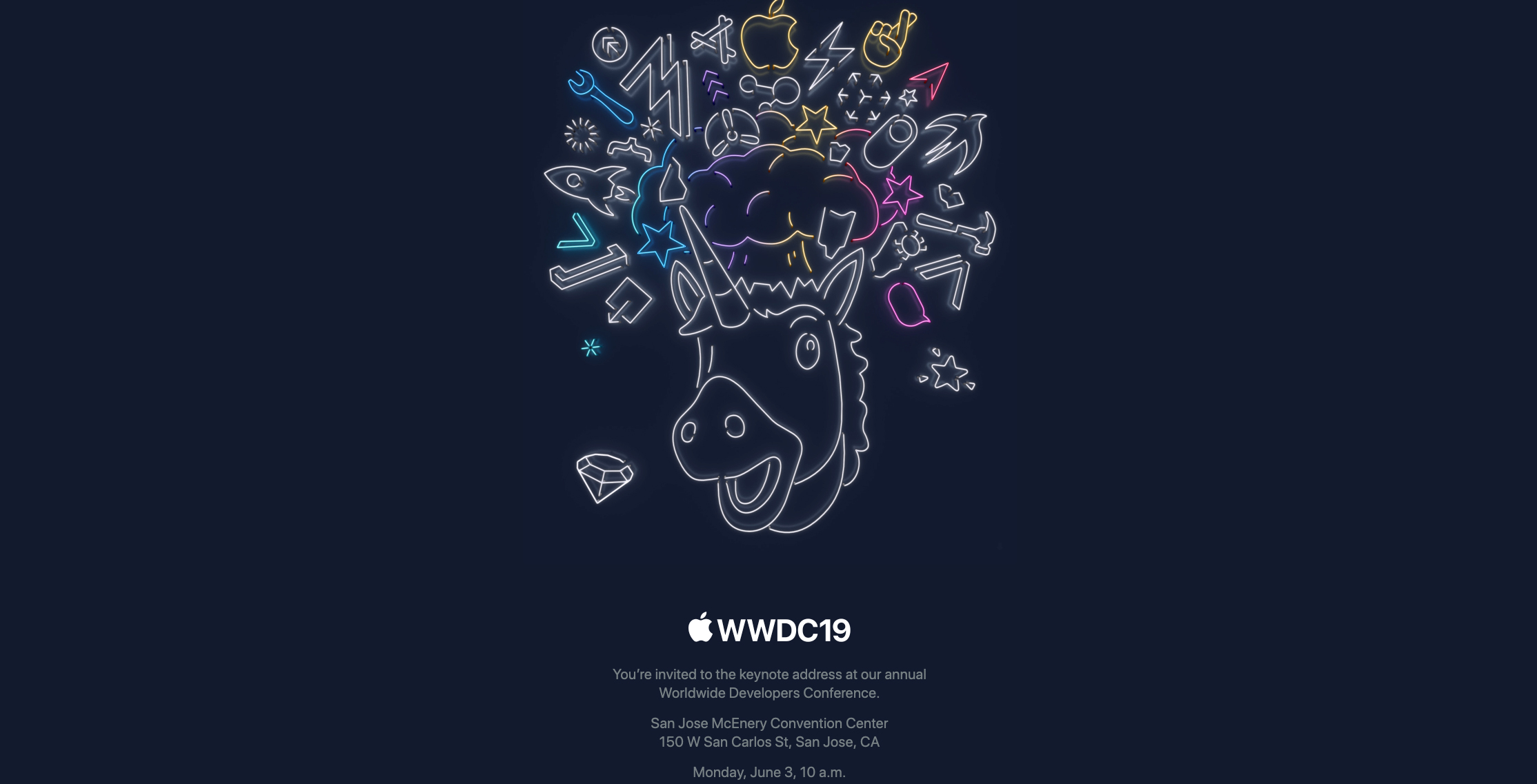 Apple WWDC 2019 date time Live Stream
