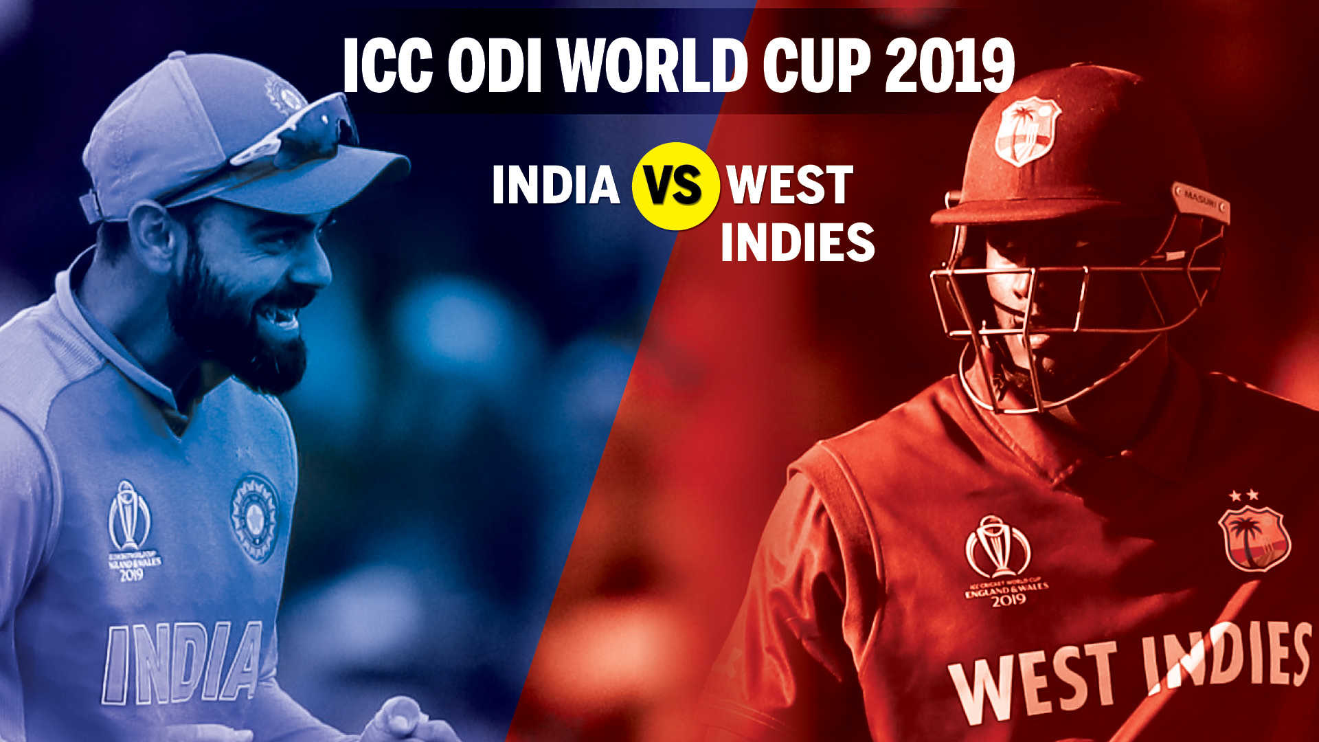 India vs West Indies Cricket World Cup 2019