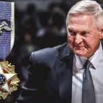 Jerry West of NBA receives the President Medal of Freedom