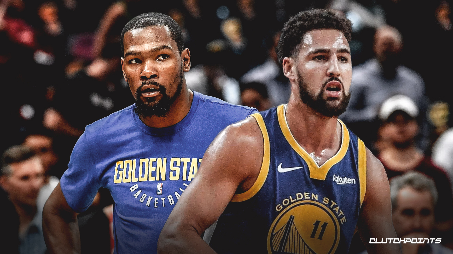 NBA 2020 Kevin Durant Klay Thompson Golden State Warriors