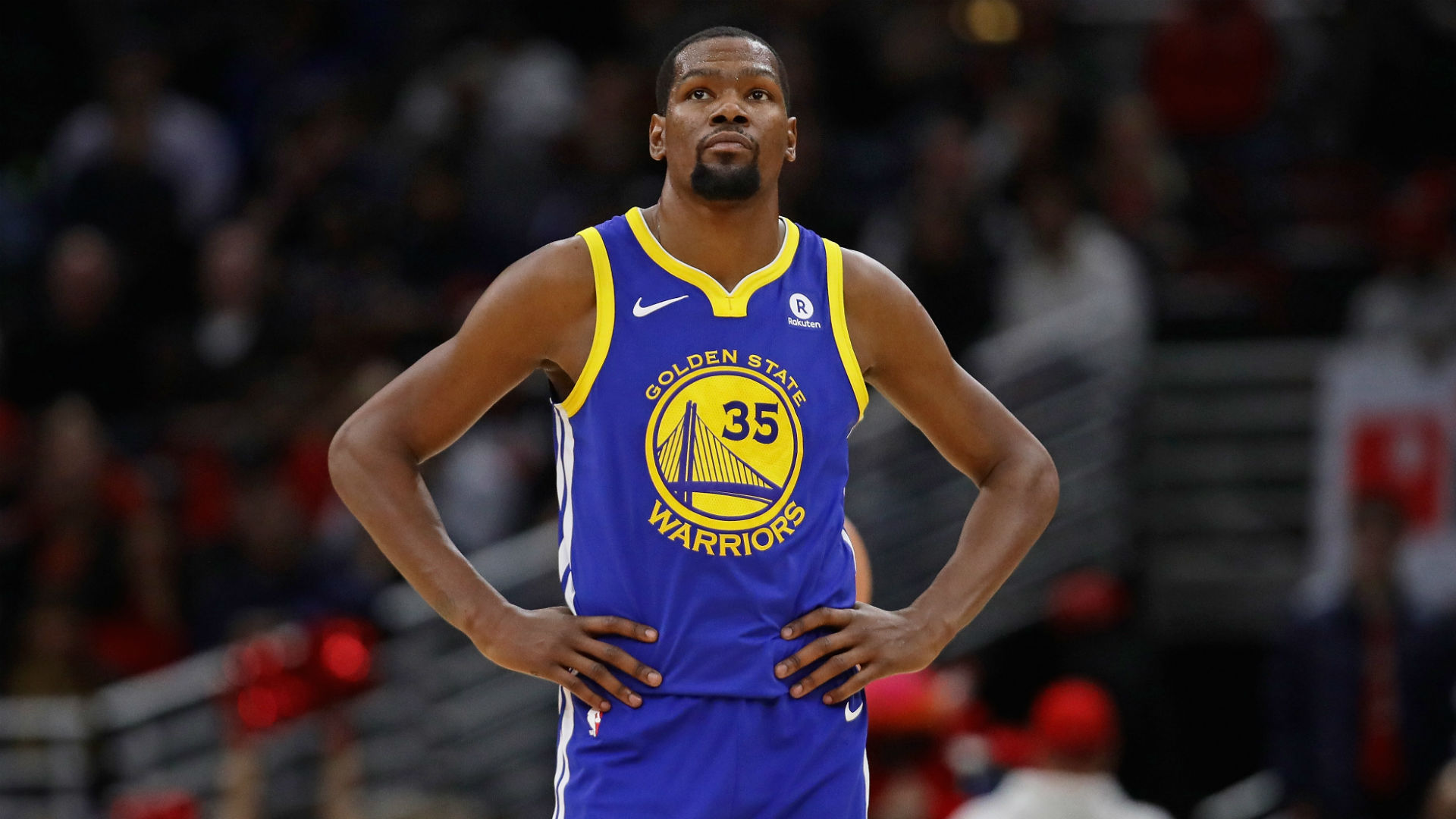 Kevin Durant NBA Warriors injury