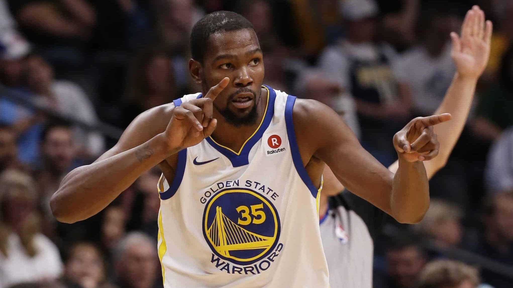 NBA Kevin Durant Warriors Knicks Nets Lakers Clippers