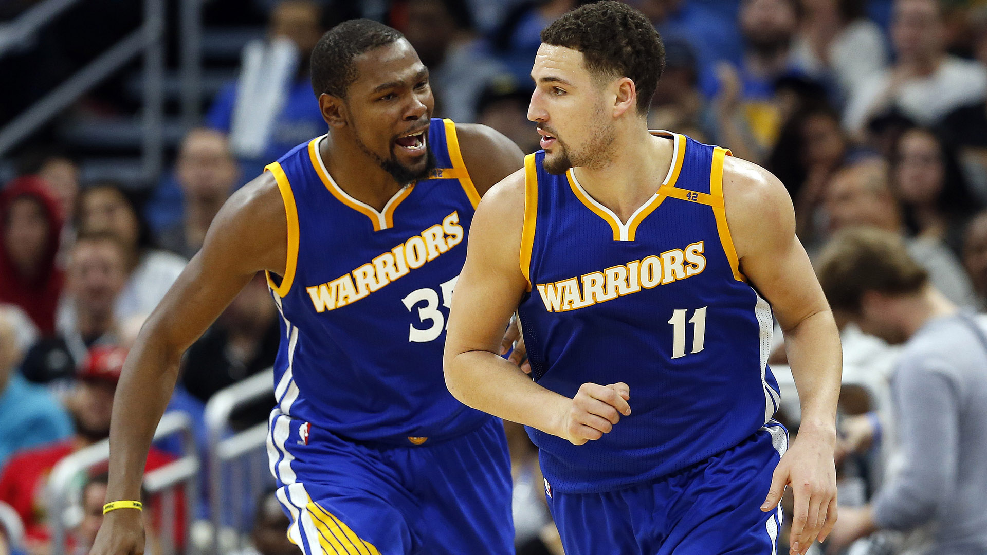 NBA trade Kevin Durant Klay Thompson Golden State Warriors Free Agent