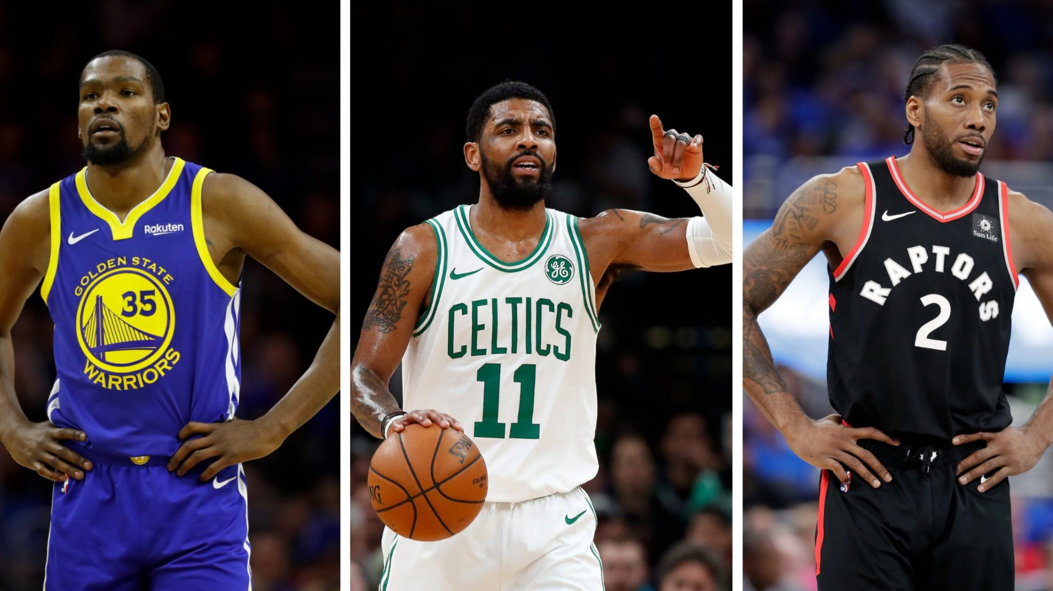 NBA Free Agents Kevin Durant, Kawhi Leonard, Kyrie Irving, Kemba Walker and Klay Thompson trade deal