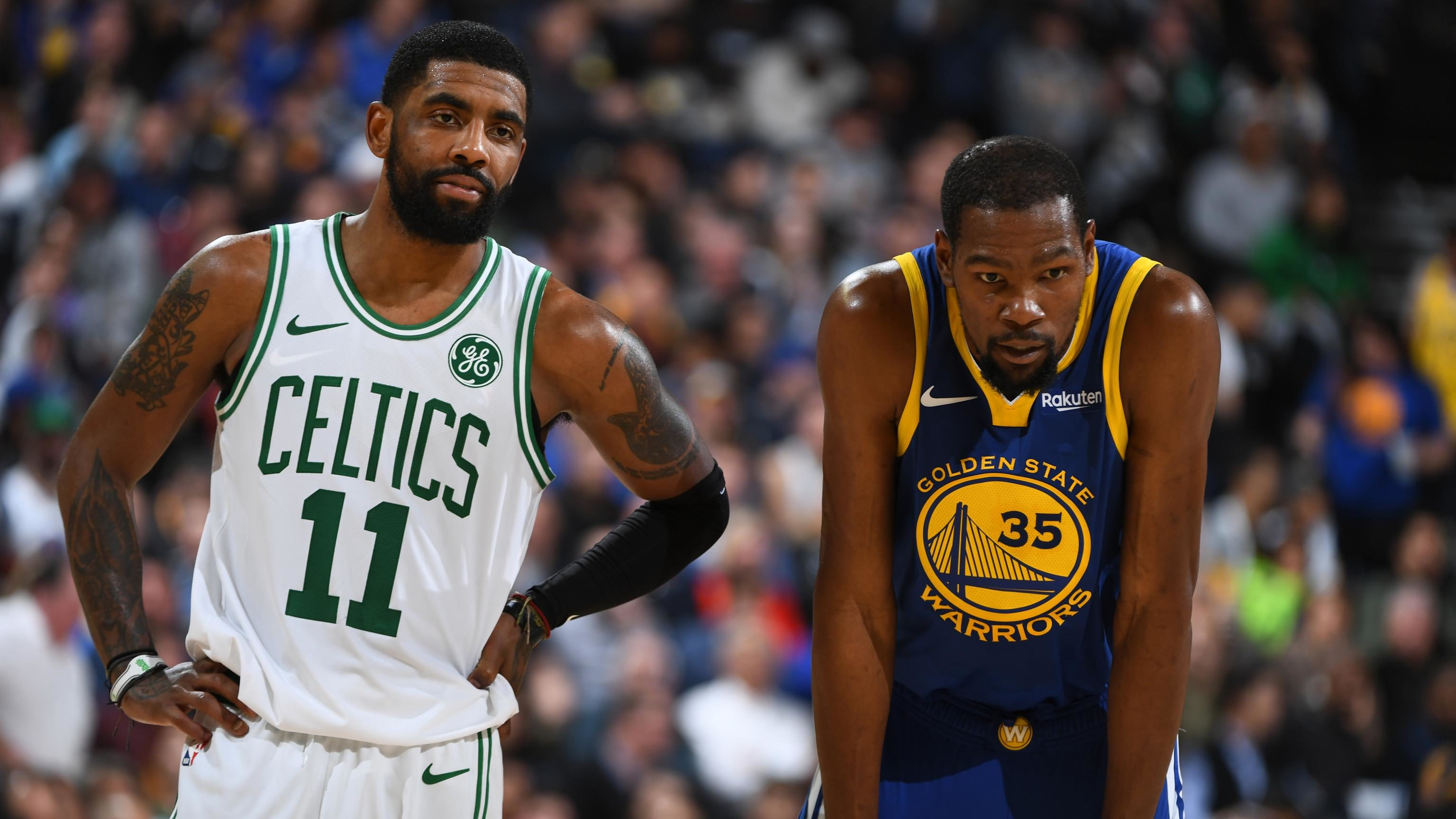 NBA trade deals Kawhi LEonard Jimmy Butler Kevin Durant Warriors Kyrie Irving Lakers