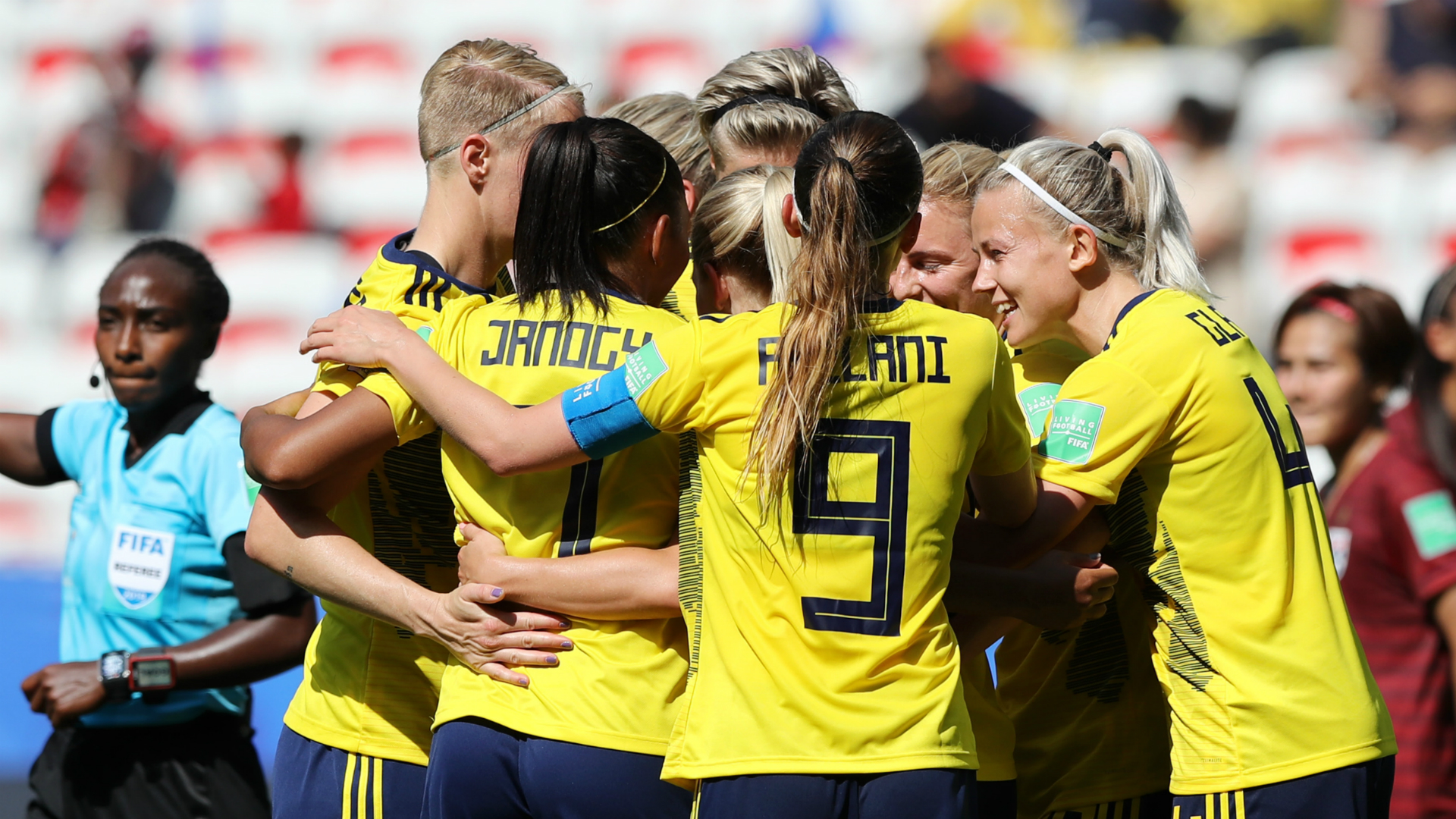 Sweden vs United States football women's world cup
