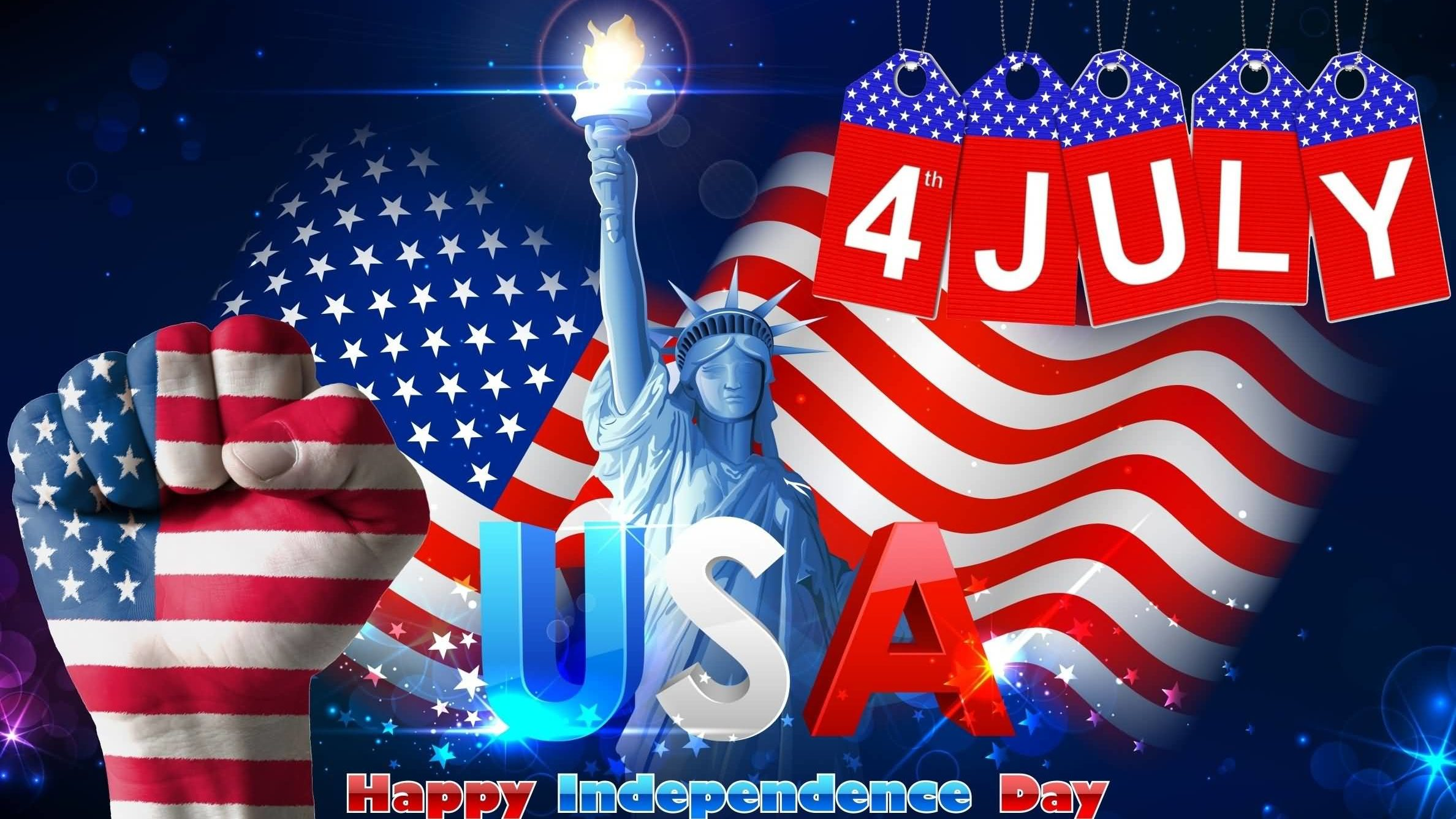 4th of July US Independence Day Greetings