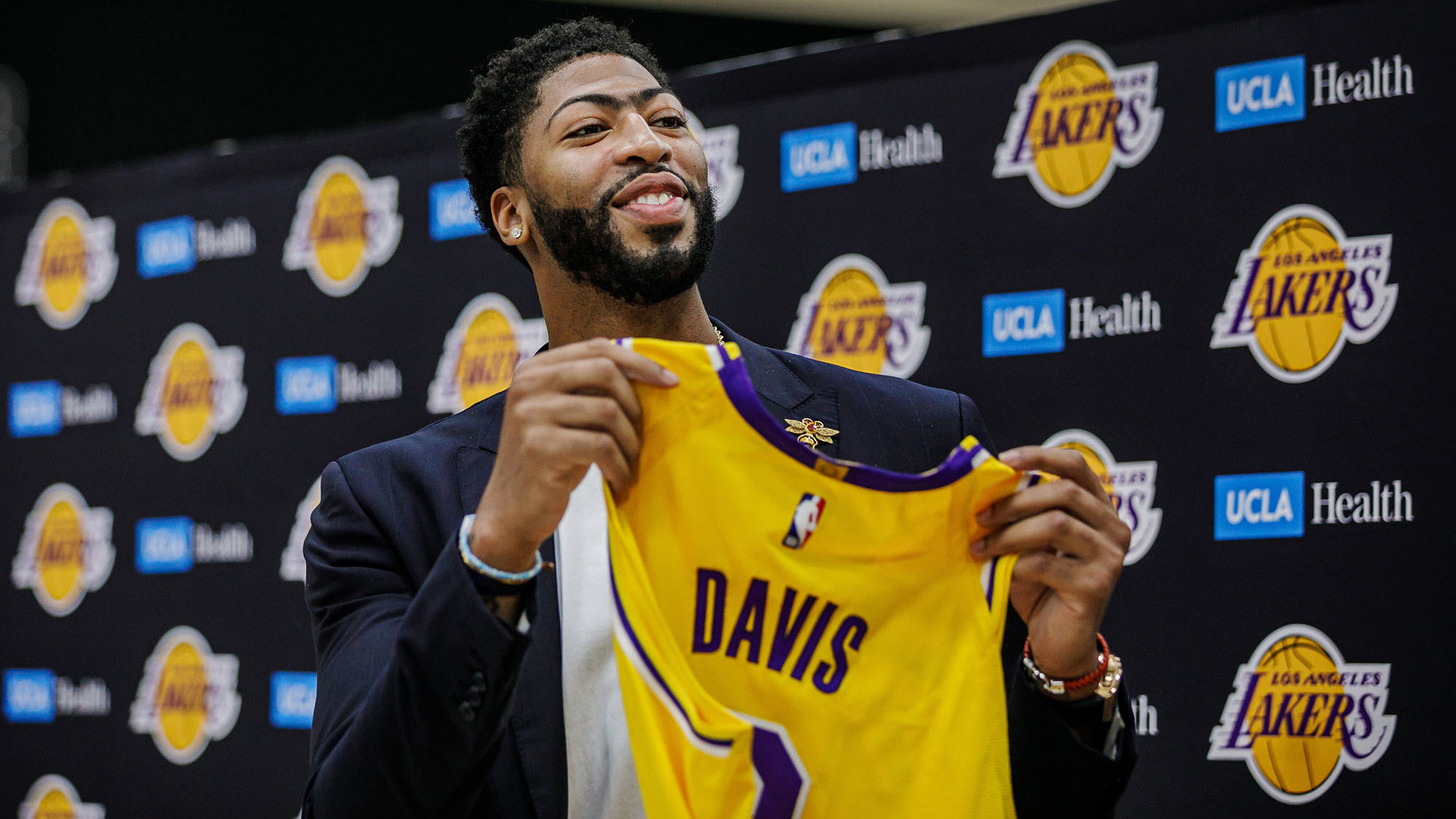 NBA Anthony Davis LA Lakers NBA Final 2020 Chicago Bulls