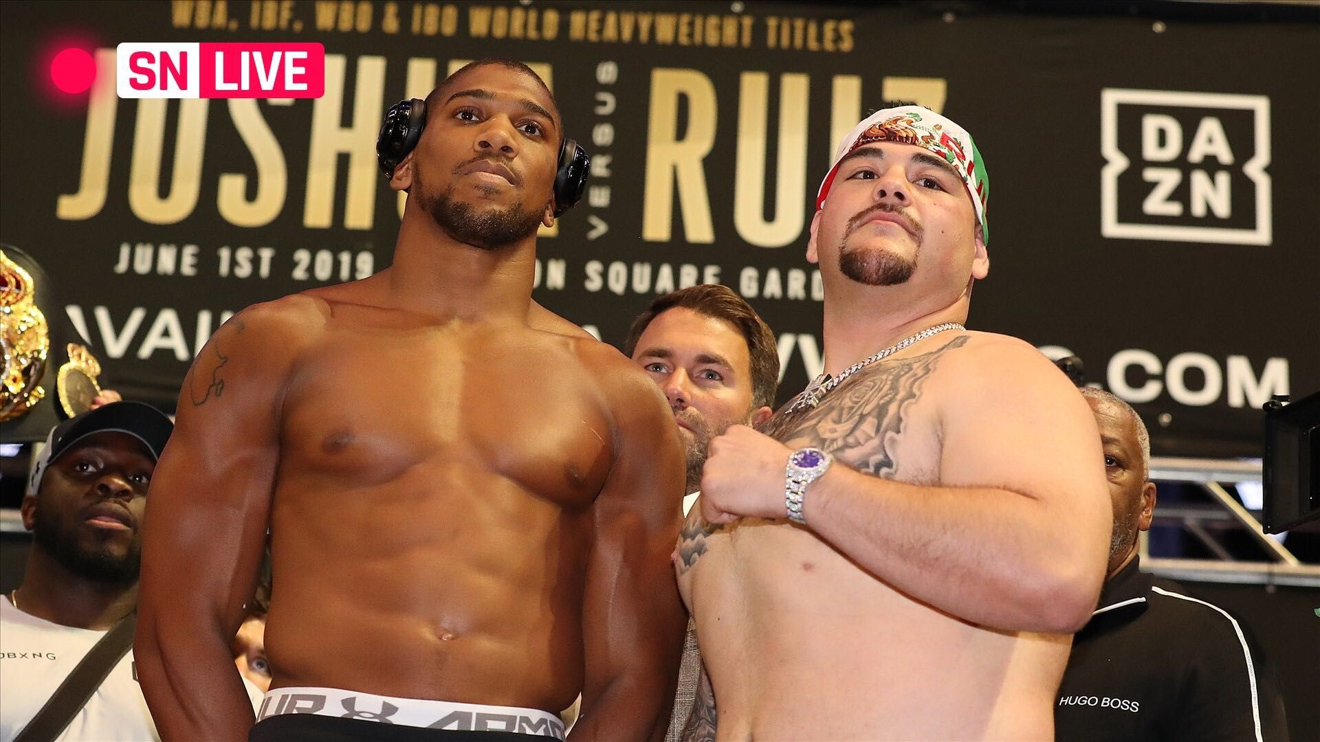 Anthony Joshua vs Andy Ruiz Jr Rematch Boxing