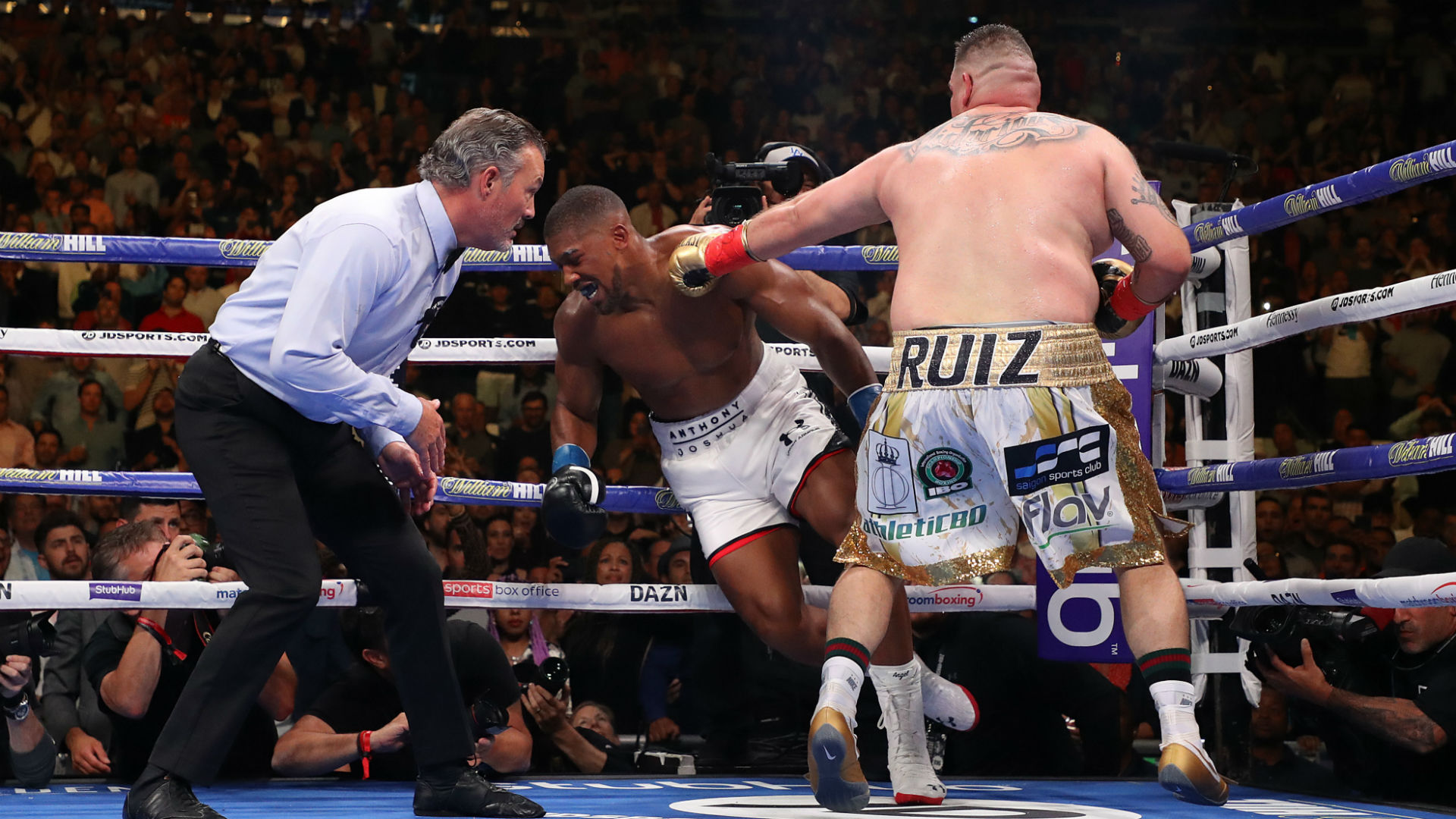 Anthony Joshua vs Andy Ruiz Jr Winner