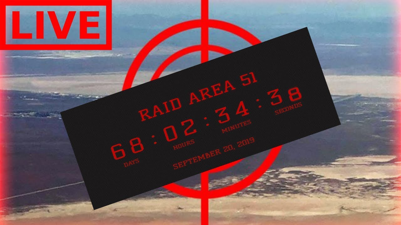 Area 51 raid to be live streamed
